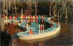 MGM Esther Williams pool at Cypress Gardens
