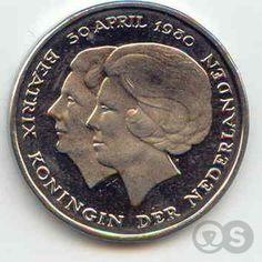Oooh, een dubbele kop. Binnenkort weer in omloop, maar dan anders. Holland, I Cool, Rare Coins, Old Tv, How To Get Rich, Sweet Memories, Coin Collecting, Back In The Day, Rotterdam