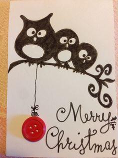 Christmas card DIY