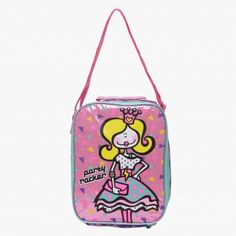 Happy House Printed Lunch Bag