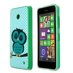 Nokia Lumia 630 Case, Harryshell(TM) Lumia 630 Case[Shock-absorption], Cute Sleeping Owl Pattern Premium Shatterproof... http://www.smartphonebug.com/accessories/12-best-nokia-lumia-630-cases-and-covers/