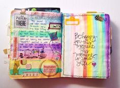 Happy Thursday, I'm back with another installment of Get Messy. Here are some MORE pages from my 2012 art journal (because who needs to be creating new stuff, right?). Next week there will be…