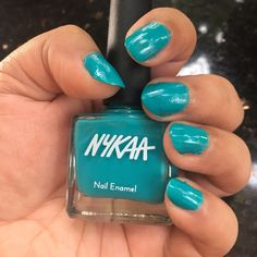 ❤ MAKEUP FOR ETERNITY ❤: Nykaa Nail Polish 63 Hawaaian Punch Review & Swatches
