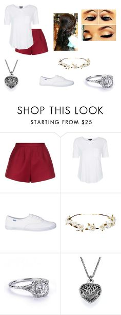 """Untitled #84"" by quotev-lover ❤ liked on Polyvore featuring RED Valentino, Topshop, Cult Gaia and Retrò"