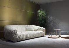Milan Design Week 2016. Drapé Sofa and Echo Coffee tables by Bartoli Design | Laurameroni