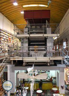 Lisboa,Portugal - Livraria Ler Devagar