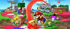 Recuperando los colores en Paper Mario Color Splash - Atomix