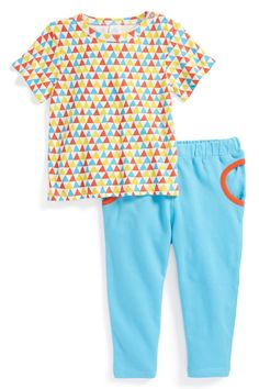 Organic Cotton T-Shirt & Pants (Baby Boys) by Stem Baby on @nordstrom_rack