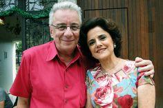 Marcos Nanini e Marieta Severo, protagonistas da série A Grande Família