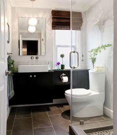 small bath redo makeover full bath contemporary, bathroom ideas, home improvement, small bathroom ideas, storage ideas