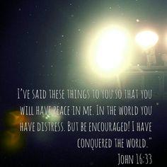 John 16:33 - Peace in Him