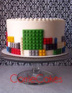 Simple Lego cake