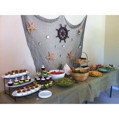 Sailboat themed baby shower