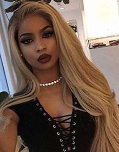33 trendy ombre hair color ideas of 2019 - Hairstyles Trends Blonde Ombre Hair, Blonde Hair Black Girls, Honey Blonde Hair, Blonde Wig, Ombre Hair Color, Cool Hair Color, Beige Hair Color, Ash Blonde, Frontal Hairstyles