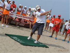 Basketball Court, Golf, Beach, Sports, Hs Sports, Seaside, Sport, Wave, Polo Neck