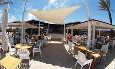 Restaurant Juan y Andrea on the beautiful island of Formentera in Spain.
