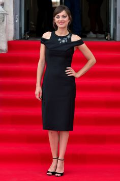Marion Cotillard attends the UK premiere of <em>Two Days, One Night</em> in London, England.