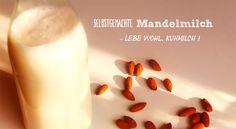 Selbstgemachte Mandelmilch ist eine leckere und gesunde Milchalternative (verglichen mit Kuhmilch) die bei #Histaminintoleranz gut vertragen wird. Was es bei der Herstellung zu beachten gibt, erfährst Du auf www.Histaminentzug.de