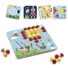 Pötyi Mozaik játék- Djeco Mosaico Maxi | Pandatanoda.hu Játék webáruház