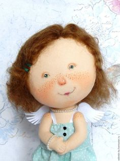 Collectible dolls handmade.  Order, he said that I am beautiful Based on E.Gapchinskoy paintings.  Valentina Davydova.  Arts and crafts fair.