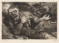 Otto-Dix-1924:WoundedSoldier
