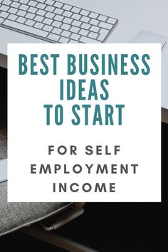 Looking for self employment job ideas? Here's a list of the best business ideas to make money with in 2020 and beyond! Self Employed Jobs, Self Employment, Employment Opportunities, Business Opportunities, Best Business Ideas, Business Tips, Online Business, Creative Business, Self Branding