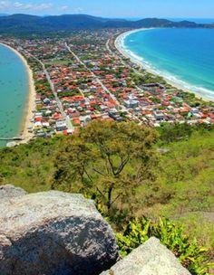 Morro do Macaco -  Bombinhas - Santa Catarina