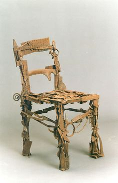 Chair made out of scraps. #sculptured65
