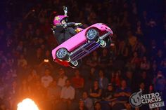 Nitro Circus Jolene van caught. I used to do this kind of stuff but not with those ramps.