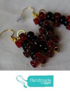 Red Tribeads Dangling Earrings from Southern Women Crafts https://www.amazon.com/dp/B01N2MXDJV/ref=hnd_sw_r_pi_dp_iV4oyb1A08RFD #handmadeatamazon