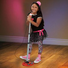 Sing-a-Long Electronic Microphone and Stand $49.99