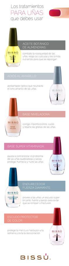 Si deseas unas uñas hermosas, naturales y fuertes; lo que necesitas son mis tratamientos.