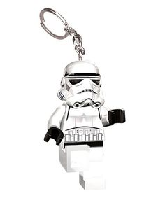 Look at this #zulilyfind! LEGO Star Wars Stormtrooper LED Key Chain Light #zulilyfinds