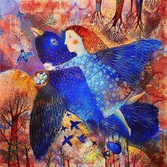 Wings of Spring by Anna Silivonchik ilivonchik.ru/en/gallery/painting-eng/