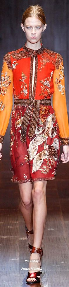 GUCCI Collection Spring 2015 Ready to Wear