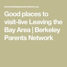 Bay area parents network