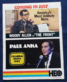1977 HBO Guide GODFATHER II PACINO Woody Allen Home Box Office TV Magazine  June