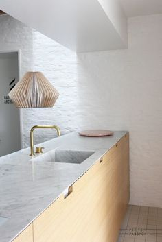 'Minimal Interior Design Inspiration' is a biweekly showcase of some of the most perfectly minimal interior design examples that we've found around the web - Interior Design Examples, Interior Design Kitchen, Interior Design Inspiration, Interior Ideas, Luxury Interior, Minimal Kitchen, New Kitchen, Kitchen Decor, Kitchen Wood