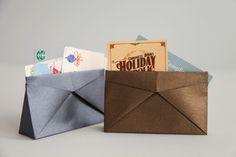 Triangular origami box - lovely