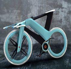 Futurystyczny rower