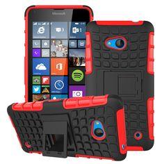 Phone Cases For Microsoft Nokia Lumia 640 N640 n 640 MICROSOFT 640 DUAL SIM Housing Bag Cover Armor Hybrid Defender Tyre Case #Affiliate