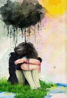 #Triste #Magoada #AosPedaços