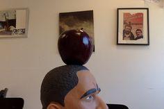 Appel gekregen van leerling die zelf vroeger docent wilde worden, omdat ze dat appels van leerlingen zou krijgen.
