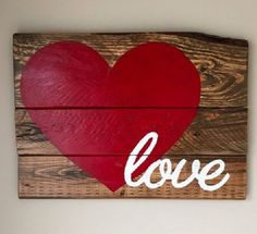 Love Sign by KellysKountryGoods on Etsy