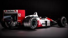 "itsbrucemclaren:  ""Mclaren Honda MP44 - Ayrton Senna  """