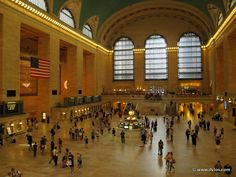 I'm gonna miss my train - Grand Central Terminal, New York City, United States. => www.ilvios.com