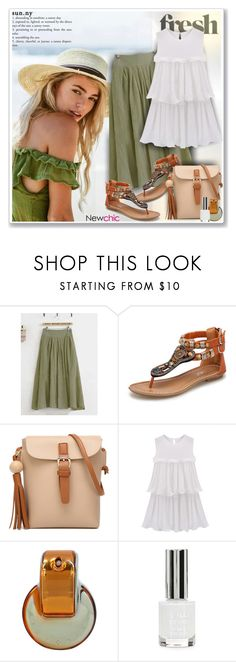 """NewChic95"" by sneky ❤ liked on Polyvore featuring Bulgari and Topshop"
