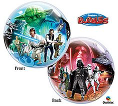 22 inches Star Wars Bubble Balloon