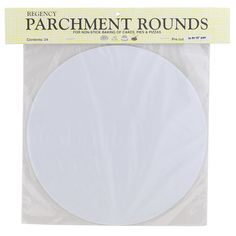 Regency Wraps RW1110 Round Parchment Paper, 10-Inch, White, Set of 24 ** Find out @ http://www.amazon.com/gp/product/B0074SFXMG/?tag=pinbaking-20&pvw=070716062129