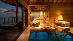 Maldives All Inclusive Water Bungalows | Conrad Maldives Rangali Island, South Ari Atoll, Maldives